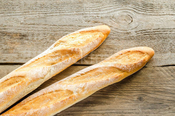 Two baguettes Stock photo © Alex9500