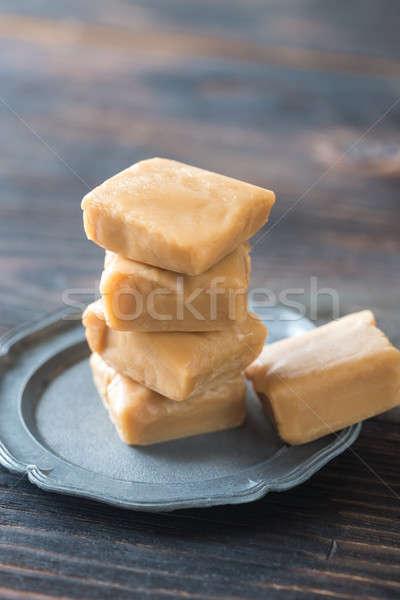 Maple cream fudge Stock photo © Alex9500