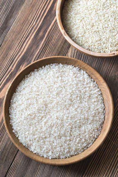 Basmati arroz comida cor semente Foto stock © Alex9500