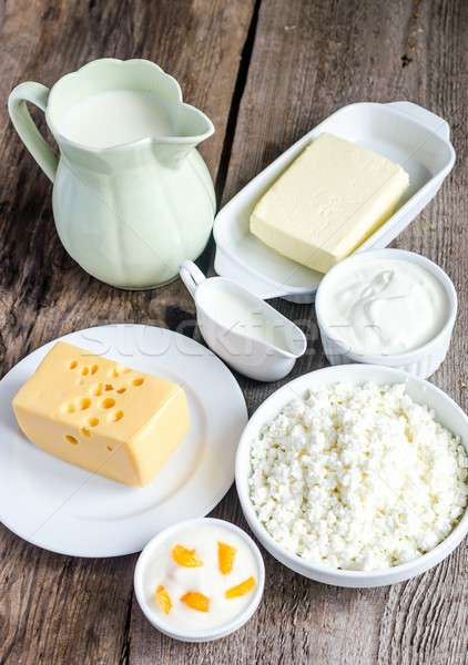 Dairy Products Stock photo © Alex9500