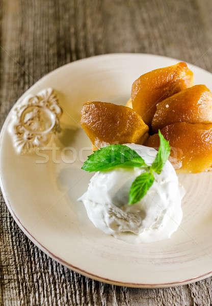 Tarte tatin french dessert Stock photo © Alex9500