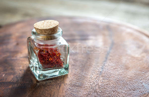 Saffron in the vial Stock photo © Alex9500