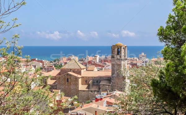 View of Malgrat del Mar, Spain Stock photo © Alex9500