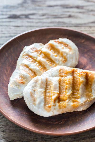 焼き鳥 鶏 新鮮な バーベキュー バーベキュー ダイエット ストックフォト © Alex9500