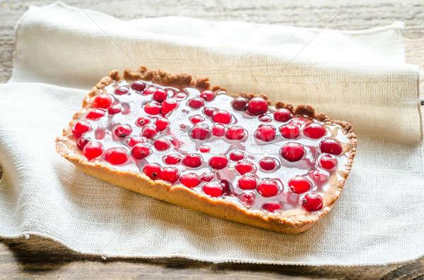 新鮮な ケーキ 夏 赤 ストックフォト © Alex9500