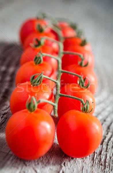 помидоры черри лист здоровья оранжевый таблице белый Сток-фото © Alex9500