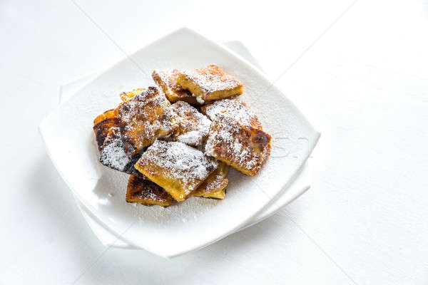 Kaiserschmarrn - popular austrian pancakes Stock photo © Alex9500