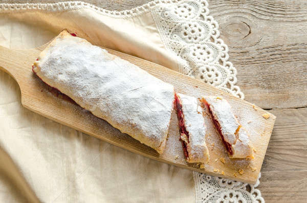 Cherry strudel Stock photo © Alex9500