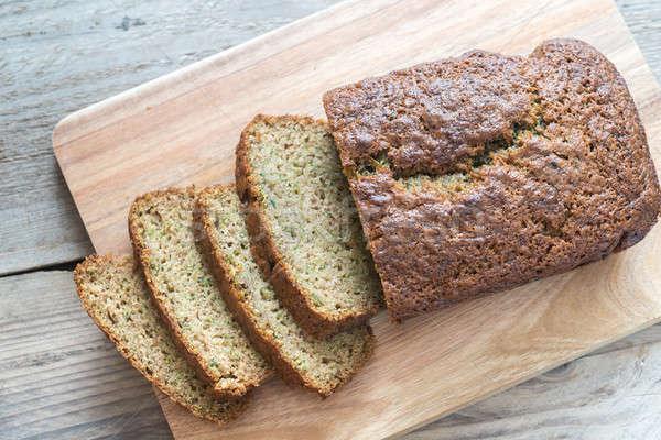 цуккини хлеб совета десерта праздник Сток-фото © Alex9500