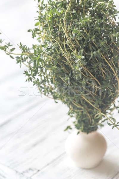 Fresh thyme Stock photo © Alex9500