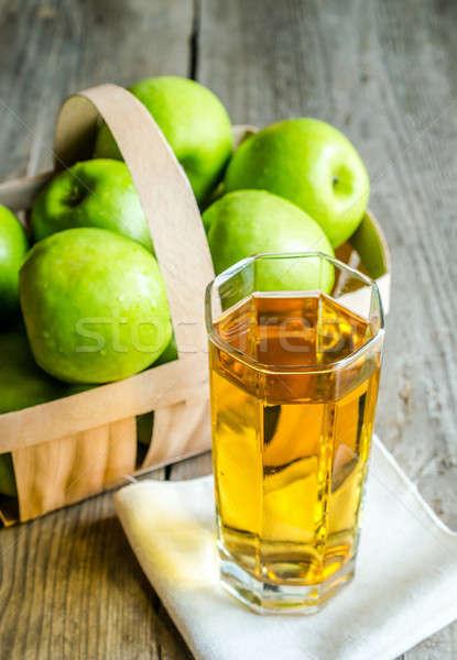 Apple juice with fresh apples Stock photo © Alex9500
