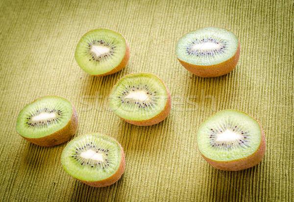 Cross section kiwifruits Stock photo © Alex9500