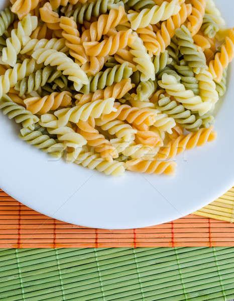 Fusilli pasta Stock photo © Alex9500