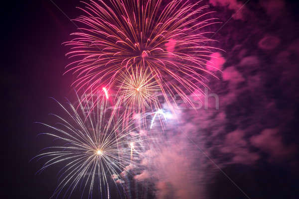 Fireworks on Independence day in USA Stock photo © Alex9500