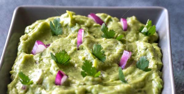 Guacamole in the bowl Stock photo © Alex9500