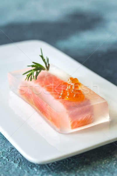 Red fish in aspic Stock photo © Alex9500
