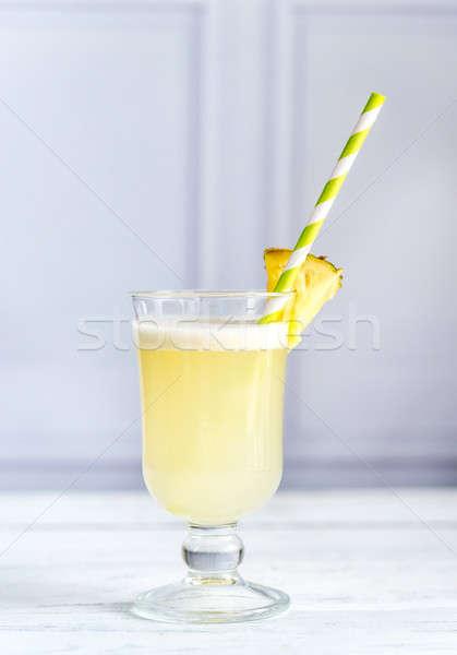 Glass of pina colada Stock photo © Alex9500