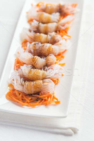 麺 醤油 オレンジ 色 アジア 中国語 ストックフォト © Alex9500