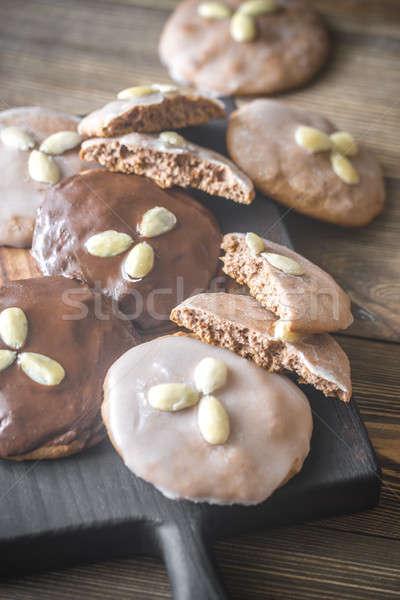 Gingerbread cookies Stock photo © Alex9500