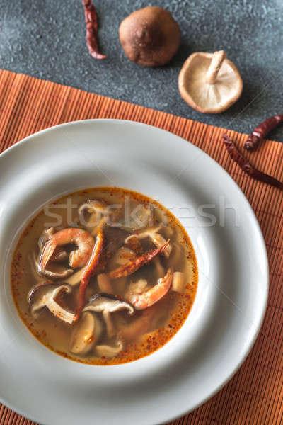 Tajska yum zupa żywności trawy Zdjęcia stock © Alex9500