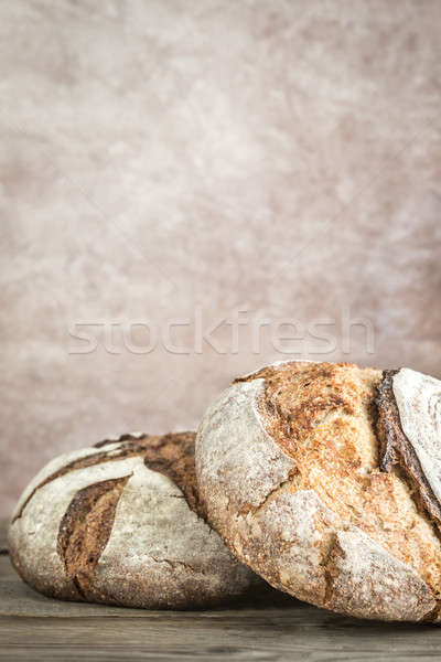 Two loaves of bread Stock photo © Alex9500