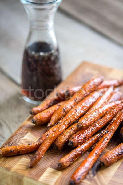 Glazed carrots Stock photo © Alex9500