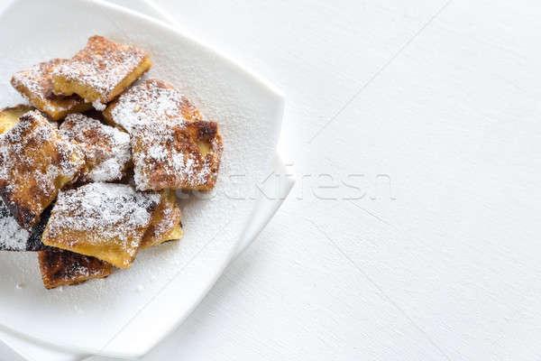 Kaiserschmarrn - popular austrian pancakes Stock photo © Alex9500