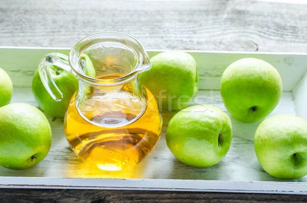 リンゴジュース 新鮮な リンゴ 緑 食品 リンゴ ストックフォト © Alex9500
