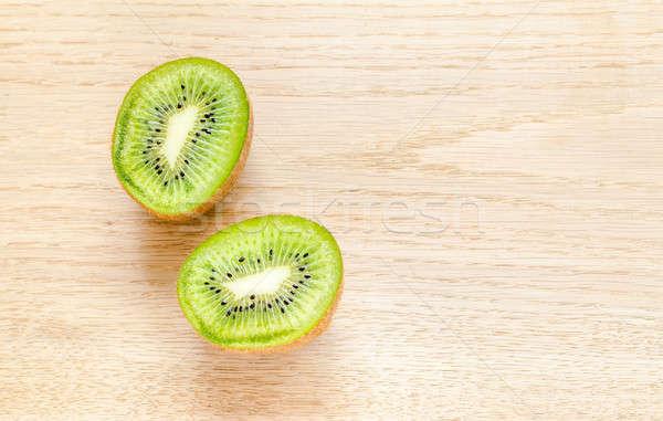 киви все фрукты поперечное сечение продовольствие Сток-фото © Alex9500