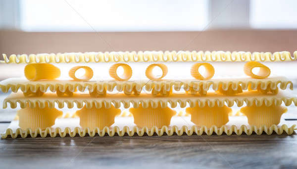 Pasta lasaña Foto stock © Alex9500