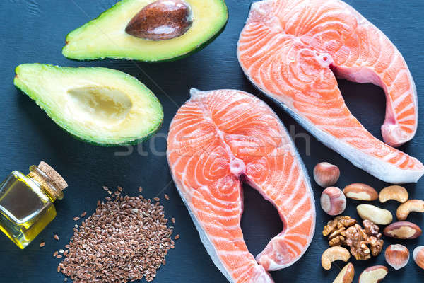 Stock photo: Food with Omega-3 fats