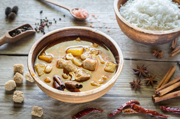 Thai Massaman Curry Stock photo © Alex9500