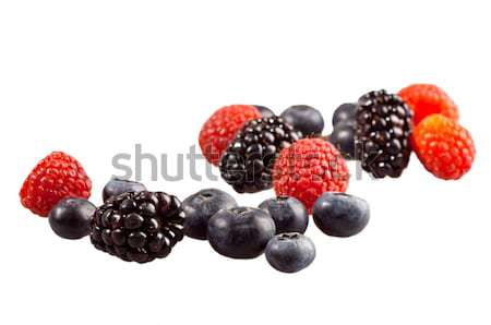 Fresh berries Stock photo © alex_davydoff