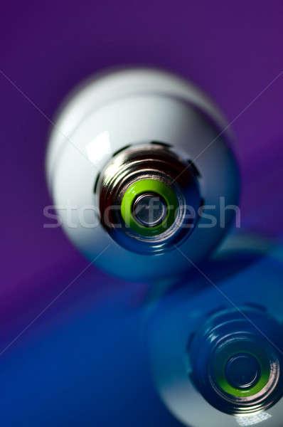 электрических домой фон лампы Сток-фото © alex_davydoff