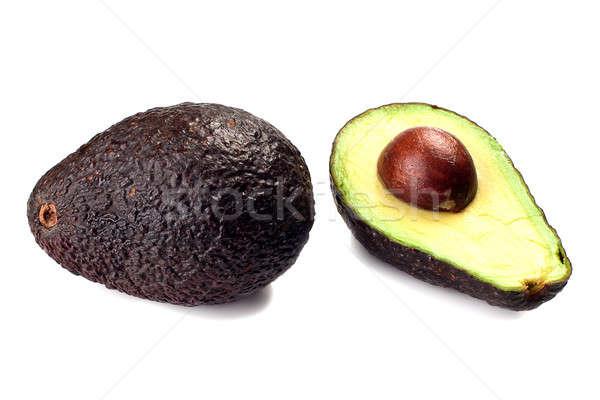 авокадо все изолированный белый продовольствие Сток-фото © alex_davydoff