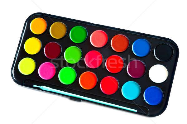 Colors paints Stock photo © alex_davydoff