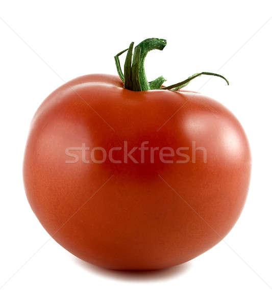 Pomodoro rosso isolato bianco frutta estate Foto d'archivio © alex_davydoff