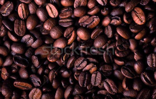 черный кофе равный поверхность кофе черный Сток-фото © alex_davydoff