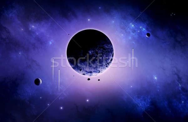 Space trip Stock photo © alexaldo