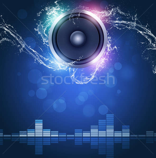 Music Background Stock photo © alexaldo