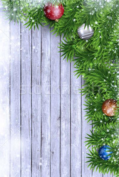 Xmas Holiday Background Stock photo © alexaldo