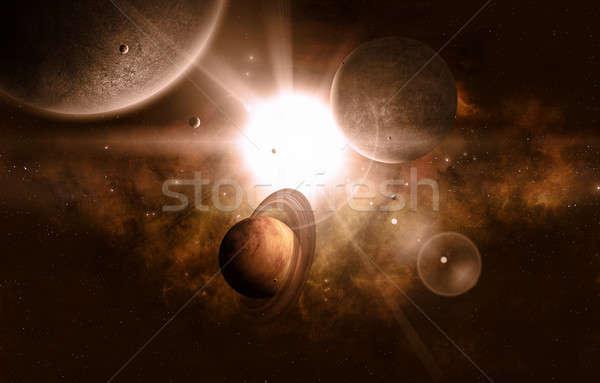 Space View Stock photo © alexaldo