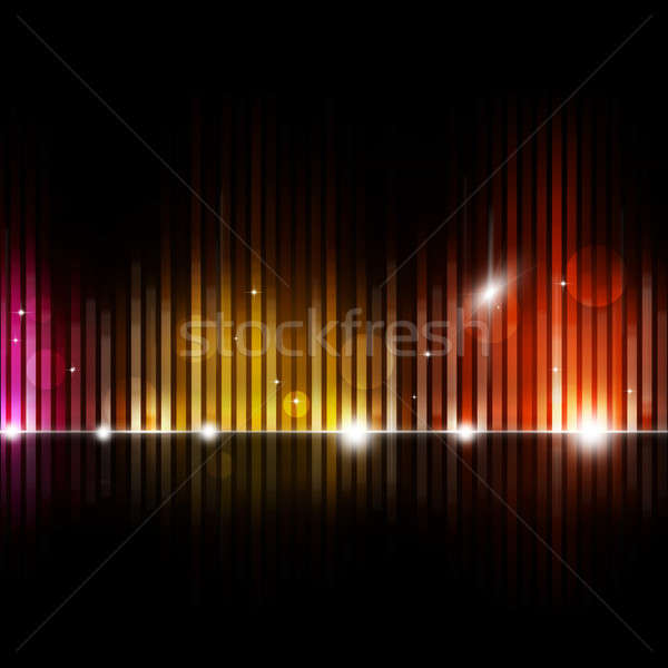 Blurred Equalizer Music Background Stock photo © alexaldo