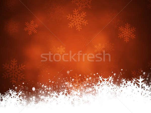 Christmas Snow Stock photo © alexaldo