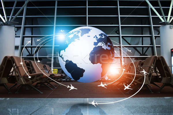 Aviation Concept Business Background Stock photo © alexaldo