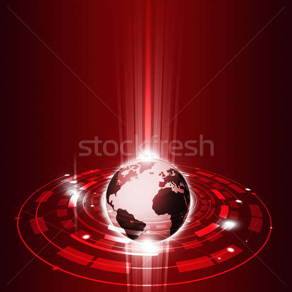 Technology Global Communications Stock photo © alexaldo