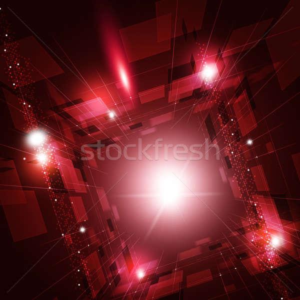 виртуальный технологий аннотация глобальный чистой Сток-фото © alexaldo