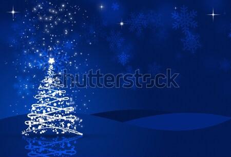 Christmas Night Stock photo © alexaldo