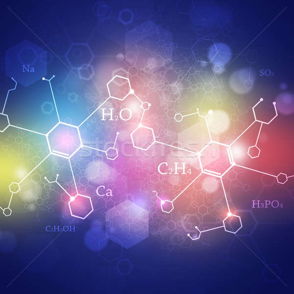 Science Multicolor Abstract Background Stock photo © alexaldo