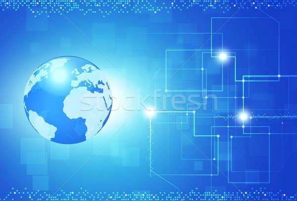 Global Digital Information Stock photo © alexaldo